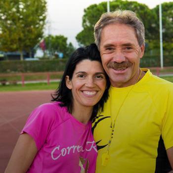 Ramiro Matamoros y Lucía González Cortijo
