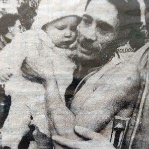 Ramiro Matamoros y su hija Itziar